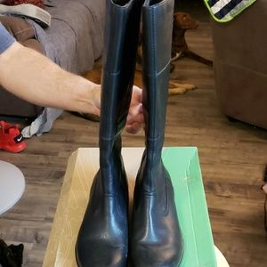 Black Darla Nappa Boots